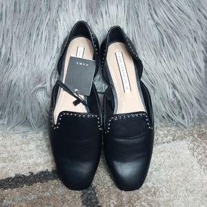 Zara Black Shoe Womens Size US 7.5